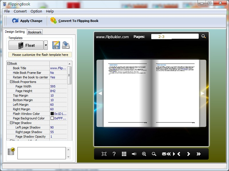 A pdf chm to flipbook 1.2