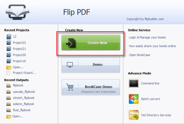 Reduce flipbook file size for quickly publishing