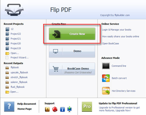 Keep the link of PDF to converted flipbook