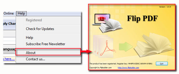 How To Register Flipbook Maker APdfCom