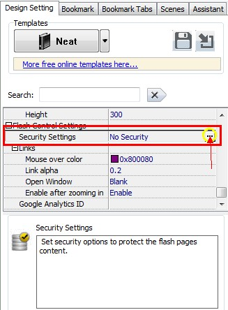 how to change password security in pdf