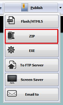 How to apply the Search function in PDF to Flash Page Flip Converter
