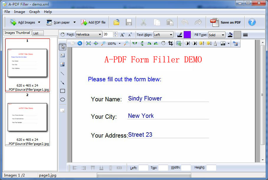 Scan and Fill Out Paper Forms. [A-PDF.com]