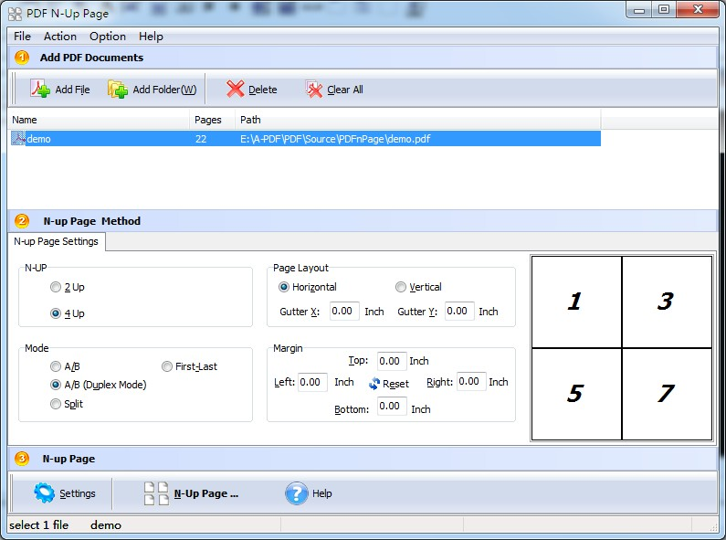 batch create impose n up 2up or 4up pdf file a pdf com