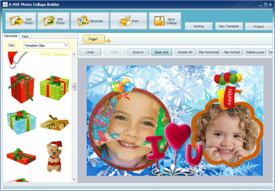 A-PDF Photo Collage Builder 1.6